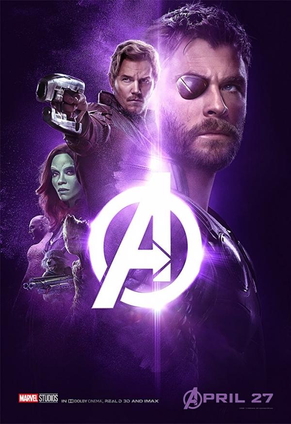 Avengers Wojna Bez Granic Plakaty Z Bohaterami Zdjęcie