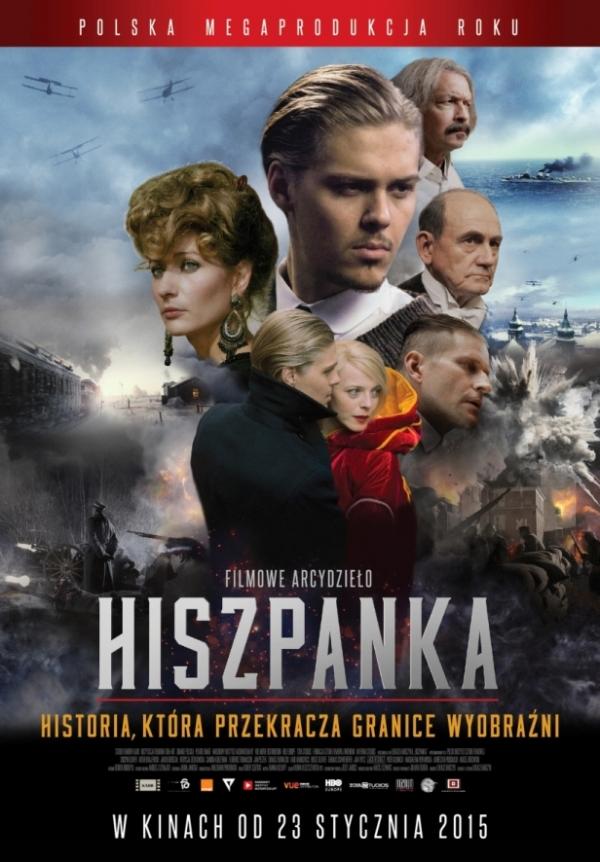 Hiszpanka - plakat