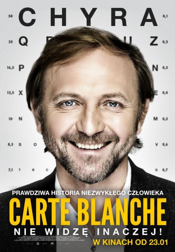Carte Blanche - polski plakat