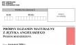 Próbna matura 2020 - arkusz CKE - j. angielski rozszerzony