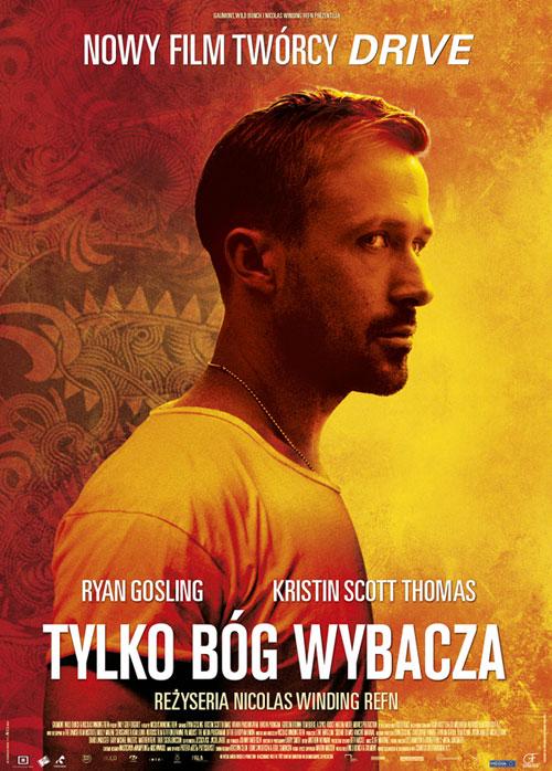 Tylko Bóg wybacza - polski plakat