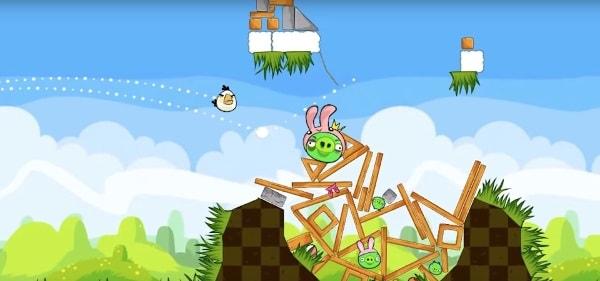 Seria Angry Birds - gra na androida bez Internetu
