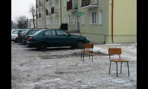 Miejsce parkingowe strefa VIP
