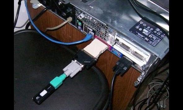 Przejściówka USB - wersja hard!