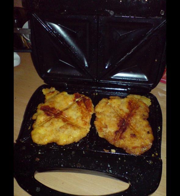 Schabowe z tostera - dbanie o linie czy przymuszona konieczność?