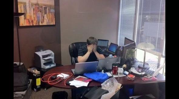 Praca programisty bywa ciężka