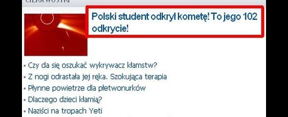 Polscy studenci i ich odkrycia
