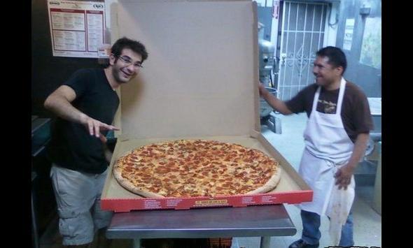Pizza dla całego piętra?