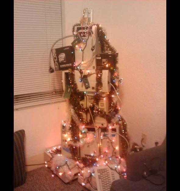 Nawet informatyka urzekła magia świąt