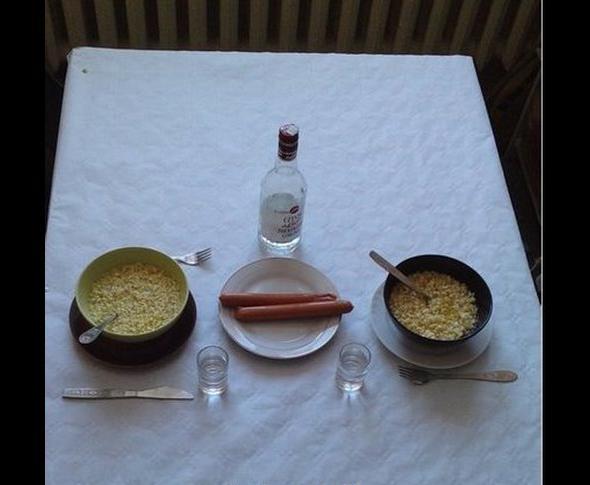 Kochanie zrobiłem obiad !