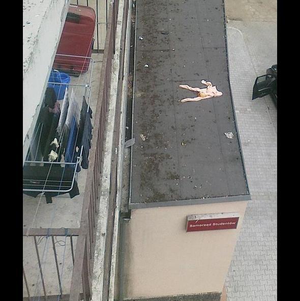 Kobieta upadła
