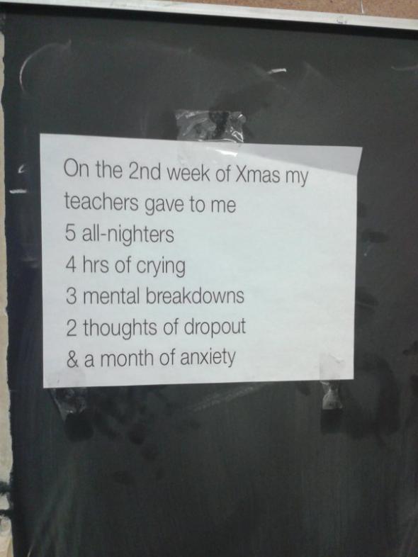 12 świątecznych dni na studiach według nauczycieli…