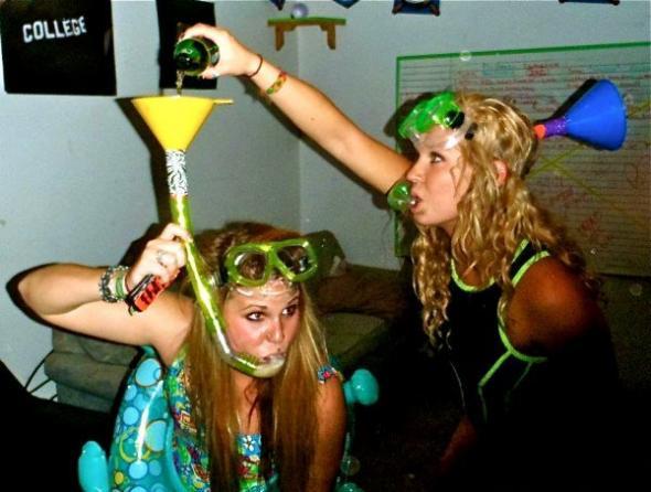 Studentki z AWFu to zawsze były pomysłowe dziewczyny!