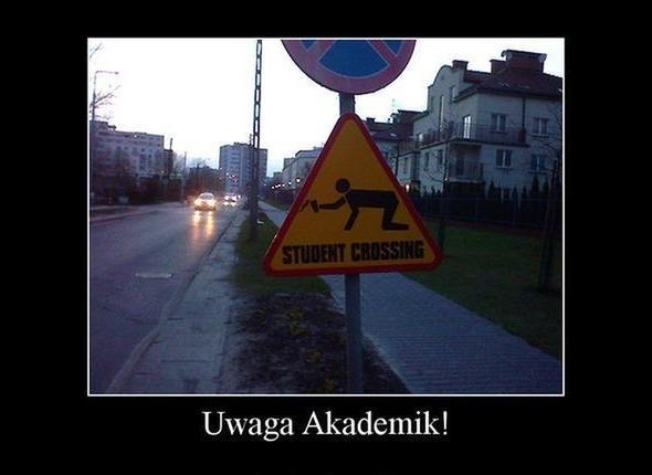 Kierowco patrz na znak!