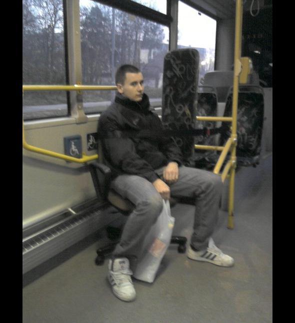 I zawsz masz miejsce w tramwaju