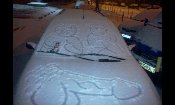Zima sprzyja artystom