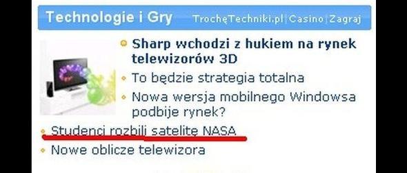 Po prostu - student potrafi! Ciekawe, czy byli z Polski?