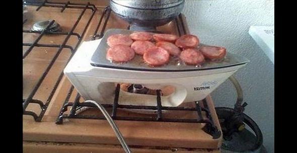 Niby nie toster, niby nie salami - ale obiad i tak będzie smaczny!