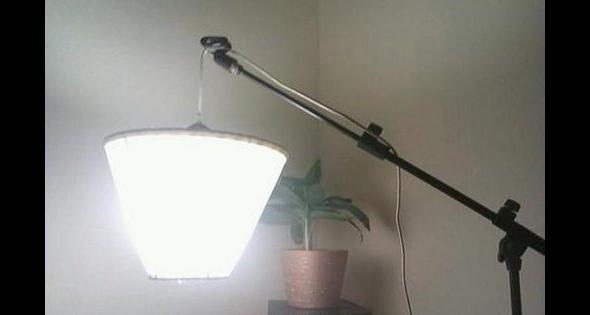 Lampa z tego co było pod ręką
