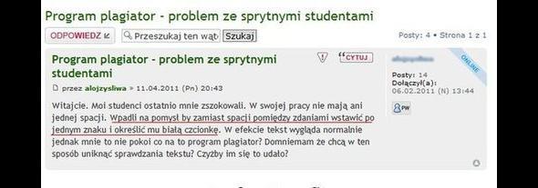 Sprytni studenci