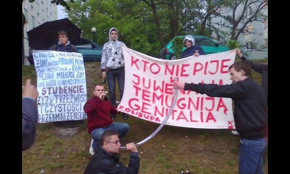 Studenci i ich slogany