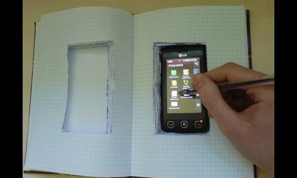 I notatnik elektroniczny nabiera zupełnie innego znaczenia…