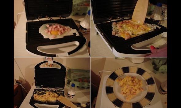 Jajecznica bez patelni