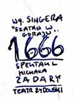 1666 wg Szatana w Goraju