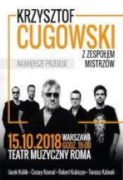 Krzysztof Cugowski z Zespołem Mistrzów-koncert