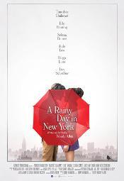 W deszczowy dzień w Nowym Jorku