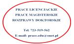 Ogłoszenie - Prace doktorskie, magisterskie, licencjackie - Katowice