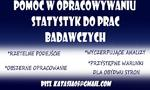 Ogłoszenie - Analiza statystyczna SPSS Statistica opracowywanie - Katowice