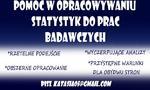 Ogłoszenie - Analiza statystyczna SPSS Statistica opracowywanie - Warszawa