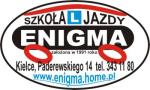 Logo: Szkoła Jazdy Enigma - Kielce