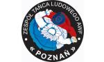 """Logo Zespół Tańca Ludowego """"Poznań"""" Akademii Wychowania Fizycznego"""