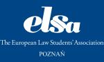 Logo Europejskie Stowarzyszenie Studentów Prawa ELSA Poznań