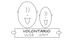 """Logo Wydziałowe Centrum Wolontariatu """"VOLONTARIO"""" Wydział Studiów Edukacyjnych Uniwersytetu im. Adama Mickiewicza"""