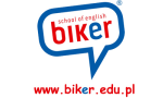 Logo Biker School of English Using the Callan Method Szkoła Języka Angielskiego