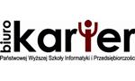 Logo Biuro Karier Państwowa Wyższa Szkoła Informatyki i Przedsiębiorczości w Łomży
