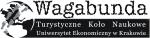 Logo Turystyczne Koło Naukowe Wagabunda