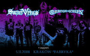 Saint Vitus, Orange Goblin + support