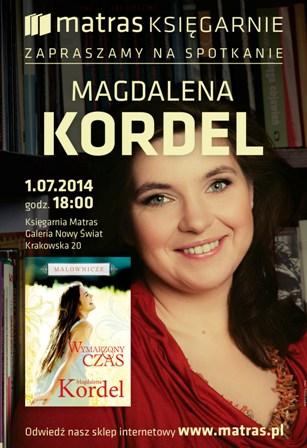 """Spotkanie z Magdaleną Kordel """"Malownicze. Wymarzony czas"""""""
