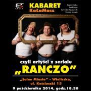 """Kabaret KaŁaMaSz, czyli artyści znani z serialu """"Ranczo"""""""