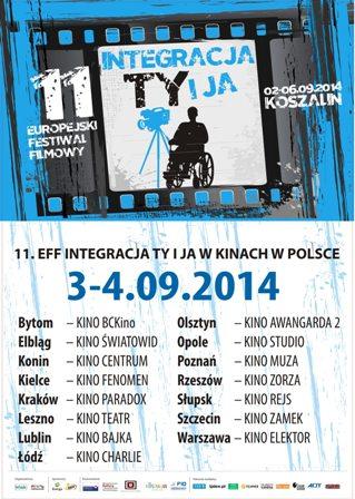 "Europejski Festiwal Filmowy ""Integracja Ty i Ja"""