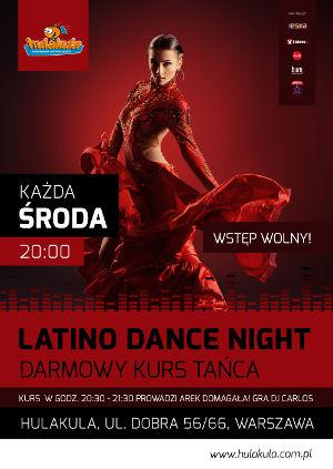 Latino dance night