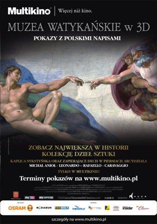 Muzea Watykańskie - wystawa multimedialna w wersji 2D i 3D