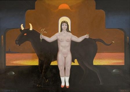 Wystawa malarstwa Edwina Sówki
