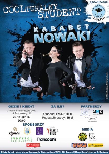 Coolturalny Student - Kabaret Nowaki