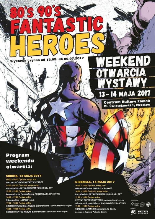 80's 90's Fantastic Heroes