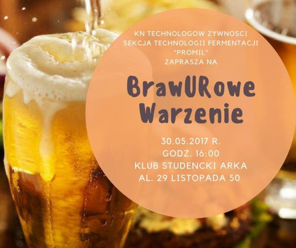 Juwenalia UR Kraków: BrawURowe Warzenie 2017